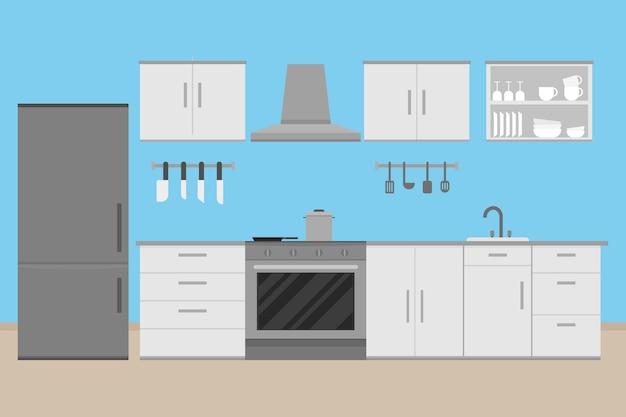 인테리어 부엌 방 디자인
