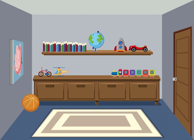 An interior of living room