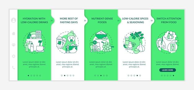 Мобильный шаблон приложения для адаптации стратегии прерывистого голодания