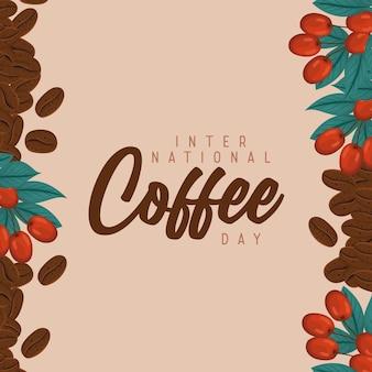 Internatinal coffee day card