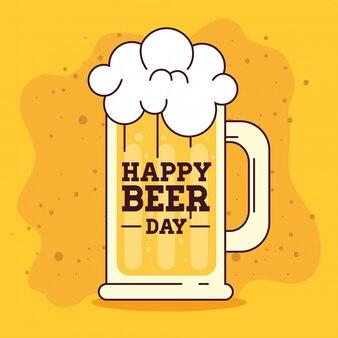 Международный день пива, август, кружка пива