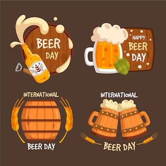 Коллекция значков международного дня пива