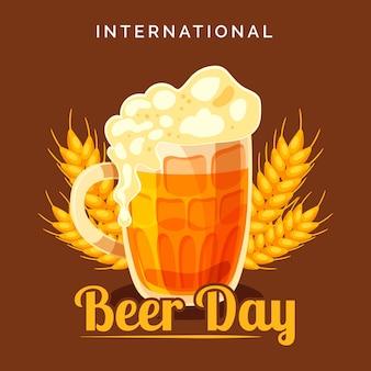 Международный день пива дизайн