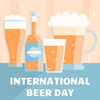 International beer day draw