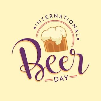 International beer day drawn