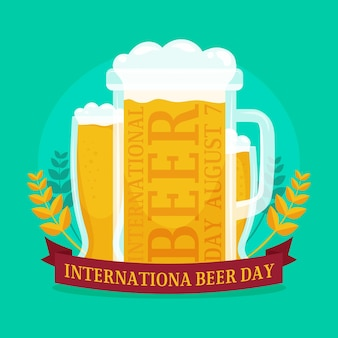 Иллюстрация международного дня пива