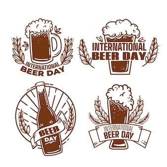 Международный день пива этикетки
