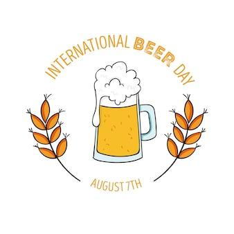 Международный день пива с пинтой