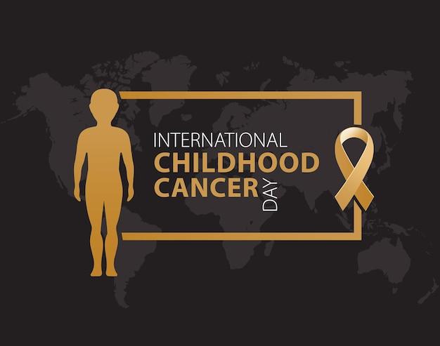Международный день распространения информации о детском раке лента о детском раке