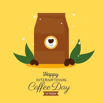 国際コーヒーの日ポスター