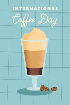International coffee day poster