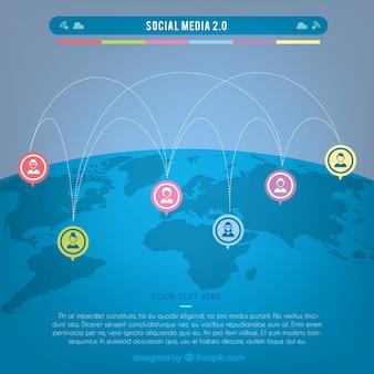 Concetto di comunicazione internazionale