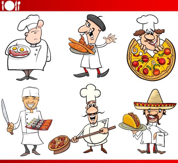 Международная кухня шеф-повары мультфильмы