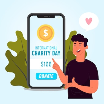 The international day of charity social assistance