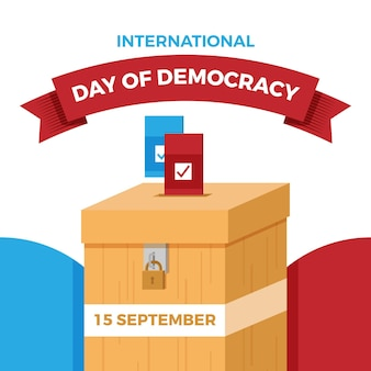 International day of democracy concept