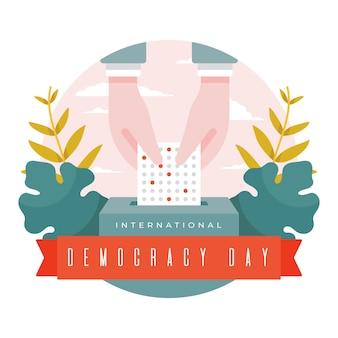Evento della giornata internazionale della democrazia