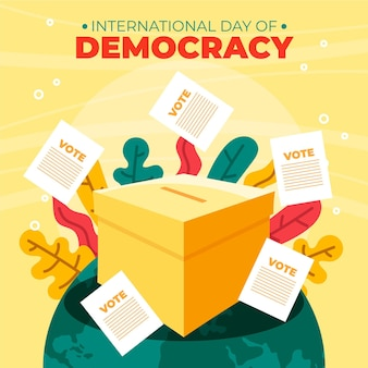 Giornata internazionale della democrazia con voto