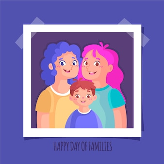 International day of families concept