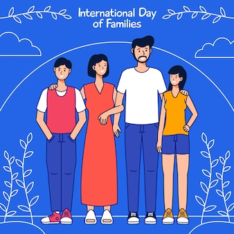 International day of families drawing