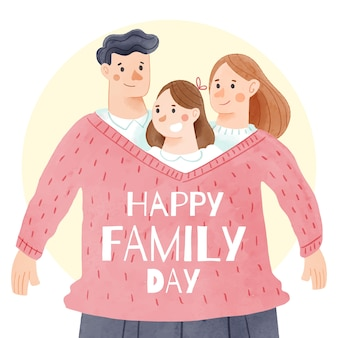 International day of families with parents and child