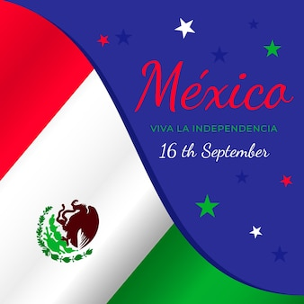International day of mexico flag