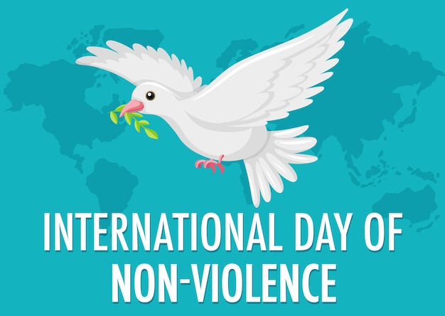 International day of non-violence icon