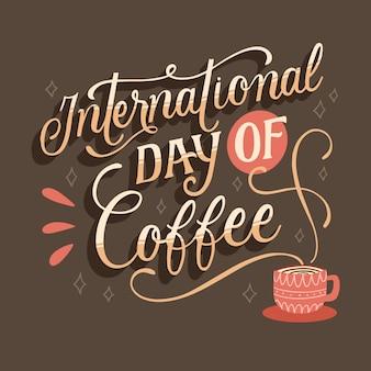コーヒーレタリングの国際デー