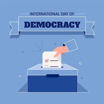Международный день демократии с голосованием