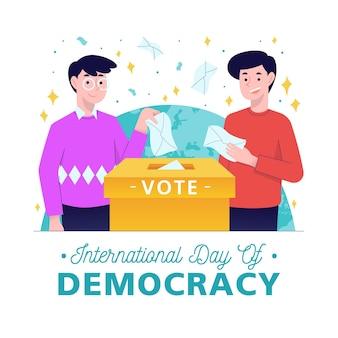 国際民主主義の日