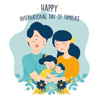 꽃과 함께하는 가족의 국제적인 날
