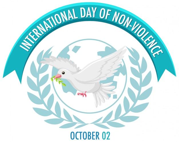 Значок международного дня ненасилия