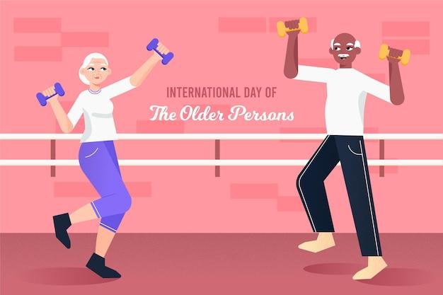 高齢者の概念の国際デー