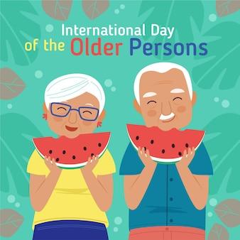Концепция международного дня пожилых людей