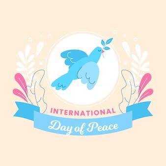 Международный день мира иллюстрации