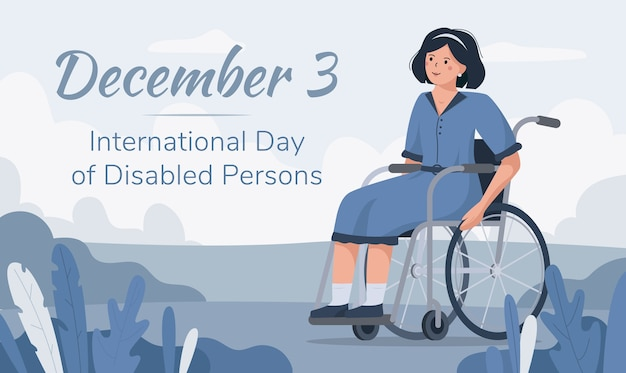 Международный день людей с ограниченными возможностями, 3 декабря.