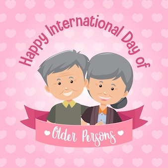 International day of older persons banner