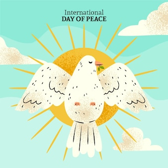 International day of peace drawing