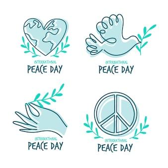 Collezione internazionale di etichette per la pace