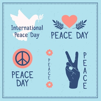International day of peace labels draw theme