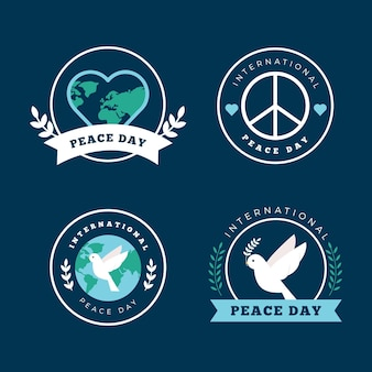 International day of peace labels