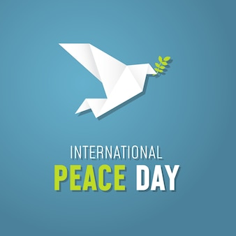 International day of peace origami