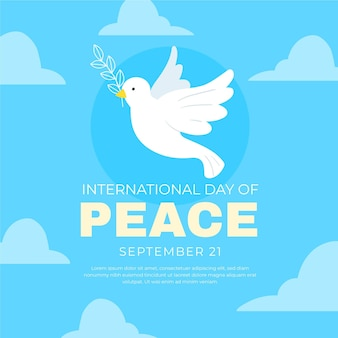 International day of peace theme
