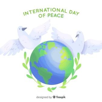 Giornata internazionale della pace con le colombe