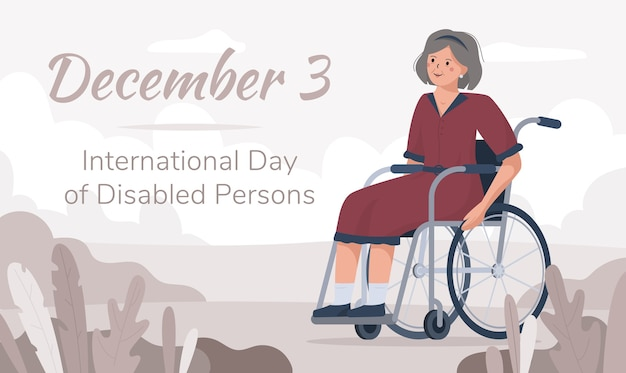 International day of persons with disabilities december 3