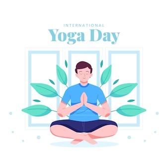 Giornata internazionale del concetto di yoga
