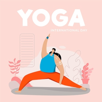 International day of yoga event