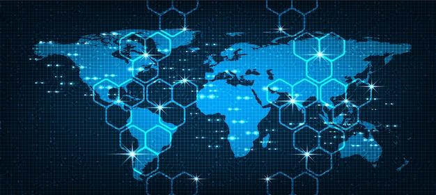 International digital global network system