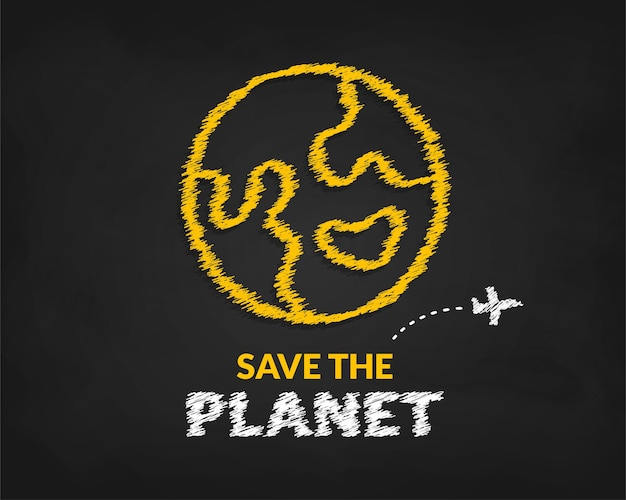 International earth day background, save the planet earth concept, eco environmental protection