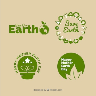 国際地球日バッジコレクション