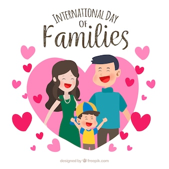 International family day background